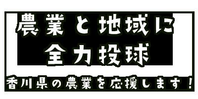 農業と地域に全力投球 香川県の農業を応援します!